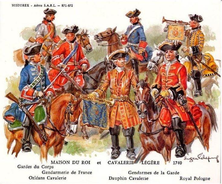 Maison du Roi et Cavalerie légère