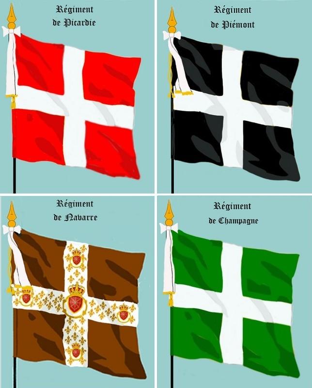 Les plus anciens Régiments sont d'Infanterie