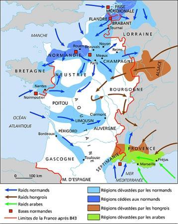 I/III : Les invasions normandes...