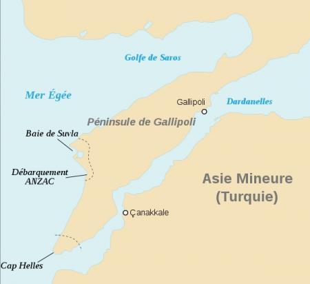 1915/1916 : les Dardanelles, l'autre Front...