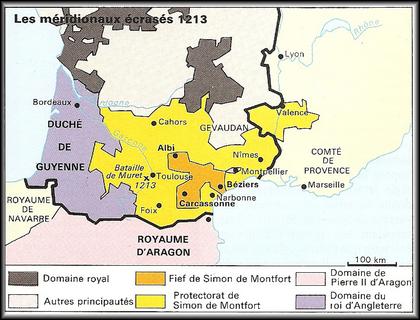 La croisade des Albigeois...