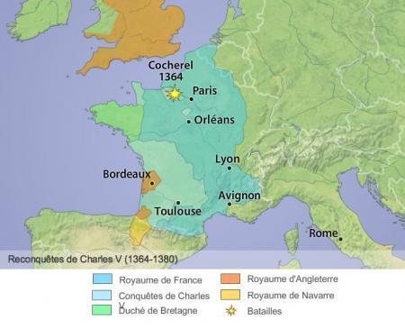 Guerre de Cent ans (2/4) : premier rétablissement