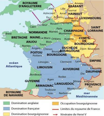 Guerre de Cent ans (3/4) : deuxième effondrement..