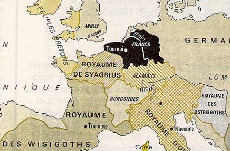 La fin de la Gaule romaine (III) : les Francs...