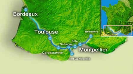 Le Canal du Midi, la prouesse technique du XVIIème