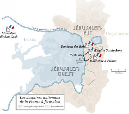 La France à Jérusalem...