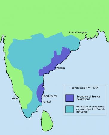 Rêves d'Empire : Inde française...(I/II)