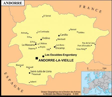 Depuis Henri IV, le co-principat d'Andorre...