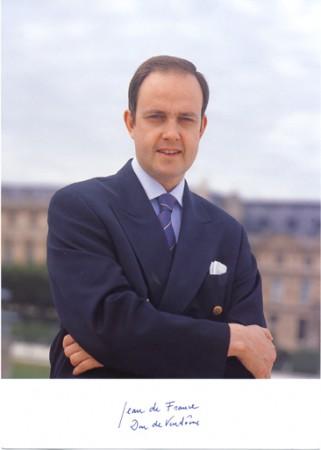 Le prince Jean de France, héritier de la dynastie fondatrice de notre nation