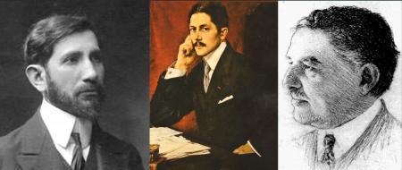 """Trois """"academiciens"""", toujours ensemble, mais..."""
