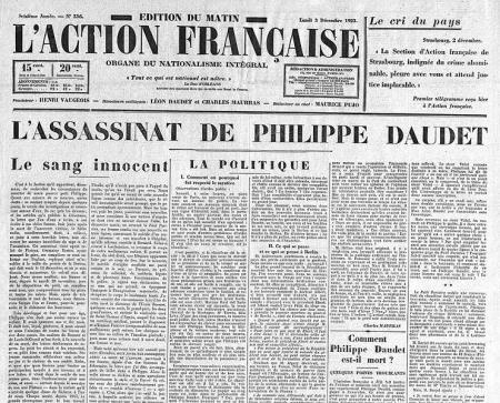 L'assassinat de Philippe Daudet (II)...