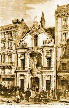 1892 : les débuts, comme journaliste, au Figaro