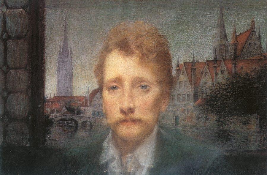 Lucien Daudet, par Besnard
