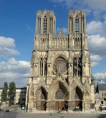 Reims, cathdrale du Sacre...