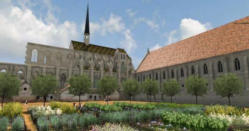 11 juin,saint denis,suger,art gothique,art roman,croisée d'ogive