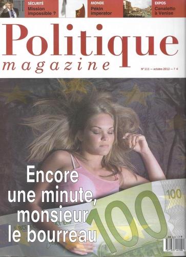 Politique magazine octobre 2012.jpg