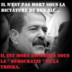 tunisie,ben ali,chokri belaid