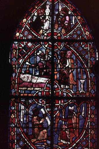 28 mai,beauvais,théophile,vierge marie,vitrail,art gothique,christ,notre-dame de paris,ruteboeuf,satan,diable,faust,chambiges