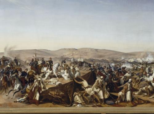 5 juillet,charles x,alger,conquete de l'algerie,bourmont,abd el kader,duc d'aumale,bugeaud,sidi ferruch,bernanos,maurras,action française,gide,silhouette