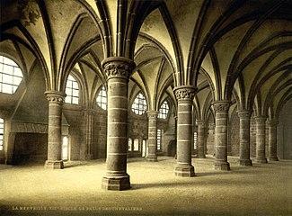 325px-Flickr_-_…trialsanderrors_-_Knights'_hall,_la_Merveille,_abbaye_de_Mont-Saint-Michel,_Normandy,_France,_ca._1895.jpg