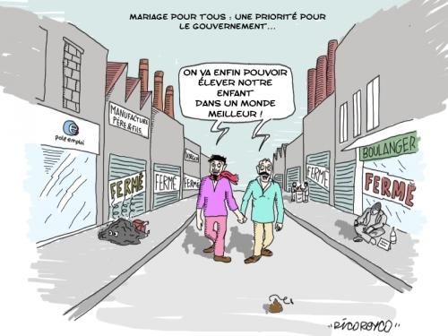 caricature maraiage gay.JPG