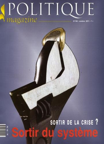 POLITIQUE MAGAZINE OCT 2011 N°100.jpg