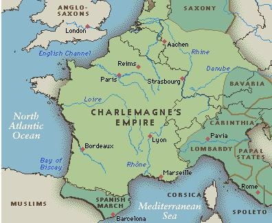 FRANCE Charlemagne_Empire_Map.JPG