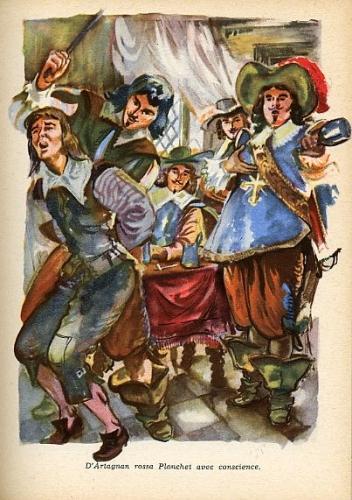 d'artagnan,planchet,bernard lhôte,fleutot