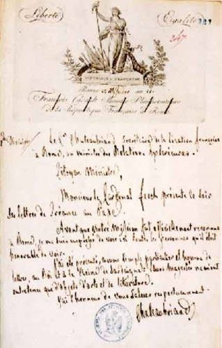 CHATEAUBRIAND LETTRE 1803.jpg