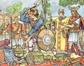 1er mars,clovis,vase de soissons,francs,eglise,guerres de religion,huguenots,henri iv,essais,montaigne,la quintinie