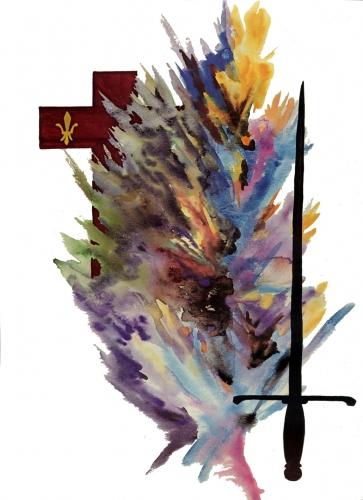 3 janvier,sainte geneviève,paris,pantheon,attila,gaule,puvis de chavannes,huns,saint etienne du mont,larousse,joffre