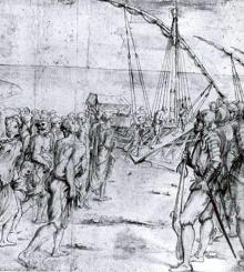 gravure d'époque de Vicente Carducho, Musée du Prado..jpg